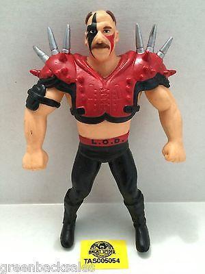 (TAS005054) - WWE WWF WCW nWo Wrestling Bend-Ems Action Figure - L.O.D. Hawk