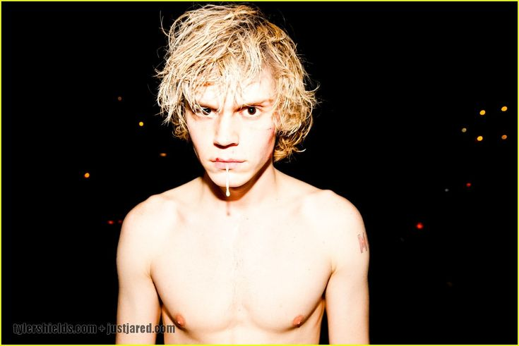 should post this on my  AHS board...but Evan Peters...my Tate Langdon. Fangirl 140% <3
