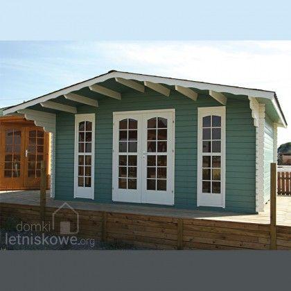 Drewniany domek ogrodowy (Wooden house) Kerstin 17,3 m2