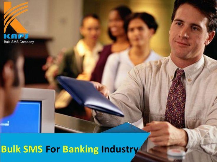 Bulk sms for banking industry http://www.slideshare.net/Bulk_SMS_Company/bulk-sms-for-banking-industry