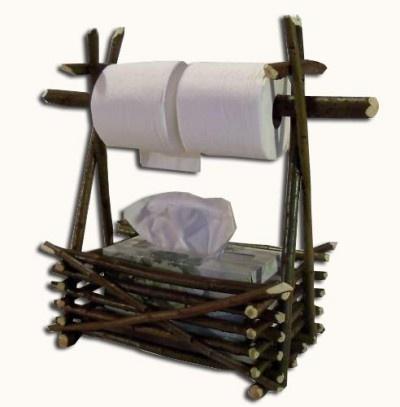 servilletas y papel de cocina rustico