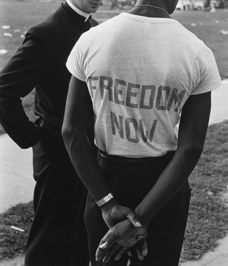 kradhe:    USA. Washington, D.C. August 28, 1963. The March on Washington (detail)  Leonard Freed