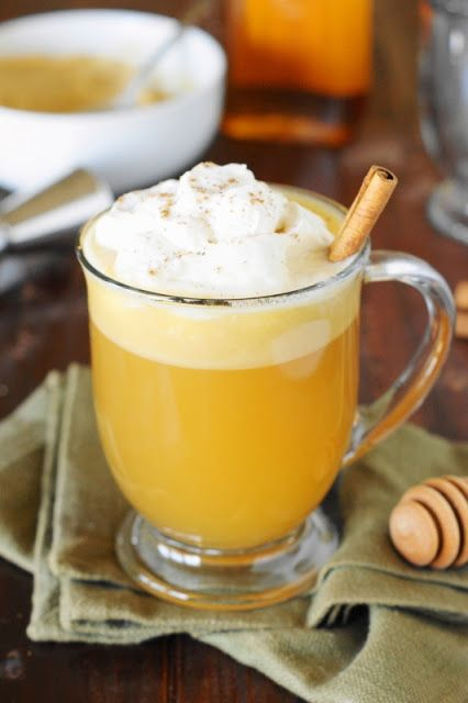 Honey Hot Buttered Rum ~ Loaded with the flavors of spiced rum, warm butter, and the sweetness of honey, it's the perfect comforting cocktail for holiday and Winter sipping.  #HolidayHoneyGranules   #sponsored  www.thekitchenismyplayground.com
