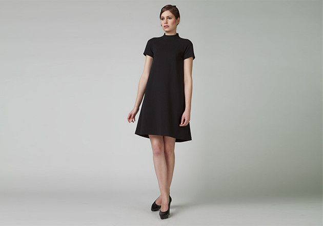KORTAS Sukienka IDALIA Black - KORTAS - Sukienki midi