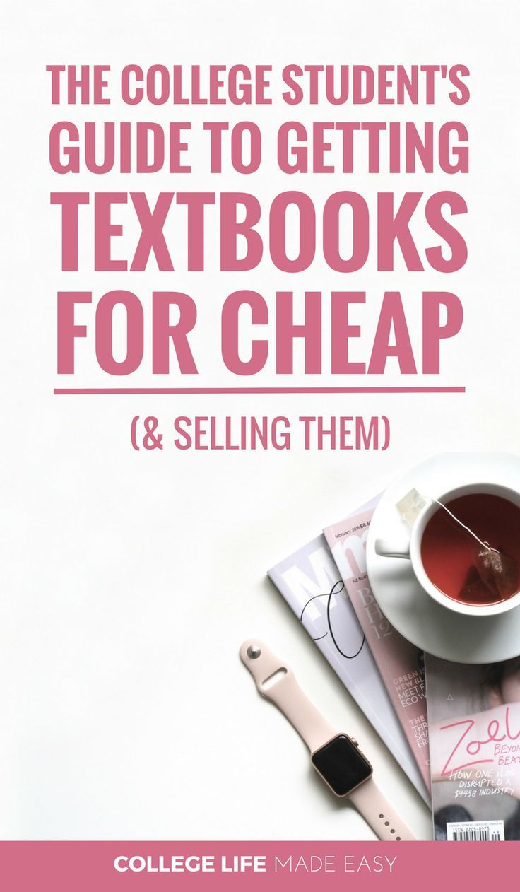 Where to Get Cheap Textbooks for College / Best Websites for Buying & Selling Student Textbooks / #college #collegelife #university #student #budgeting #frugal #frugalliving #collegeproblems #collegetips #collegehumor  via @esycollegelife