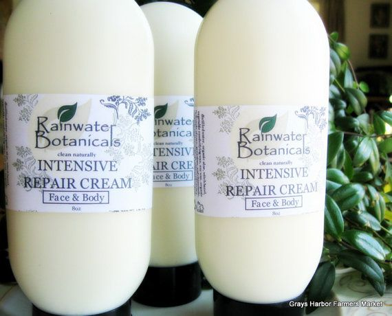 Intensive Repair Cream for face and body by rainwaterbotanicals