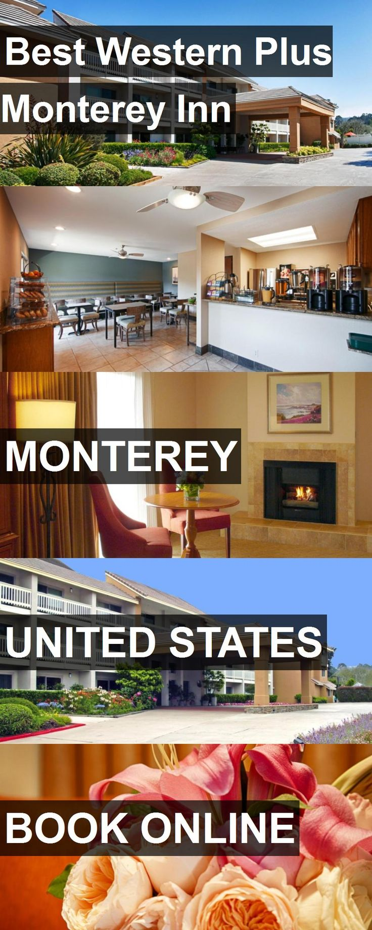 San Jose Monterey Map%0A Hotel Best Western Plus Monterey Inn in Monterey  United States  For more  information
