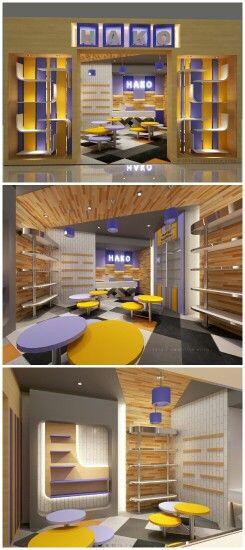 Dynamic store design by. Valentine Oriza