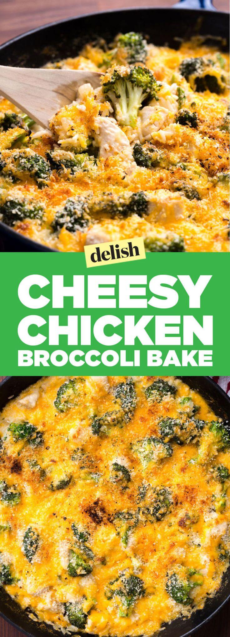 Cheesy Chicken Broccoli Bake