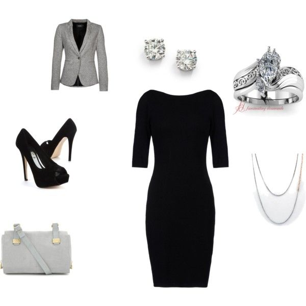 """Law School/Courtroom Ready"" by jen-rose-reiter-smith on Polyvore"