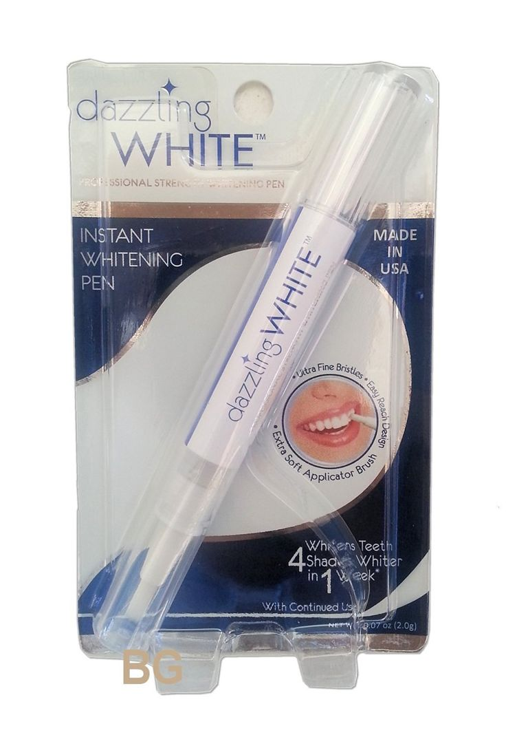 Dazzling White Instant Teeth Whitening Pen, 4 Shades Whiter in a Week, 0.07 Oz (1,000) -- Read more reviews of the beauty product by visiting the link on the image.