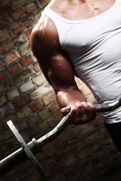 Krafttraining Muskeldefinition Gewichtheben