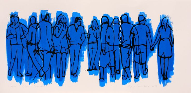 Peter Lambert - 2015 - Blue Crowd