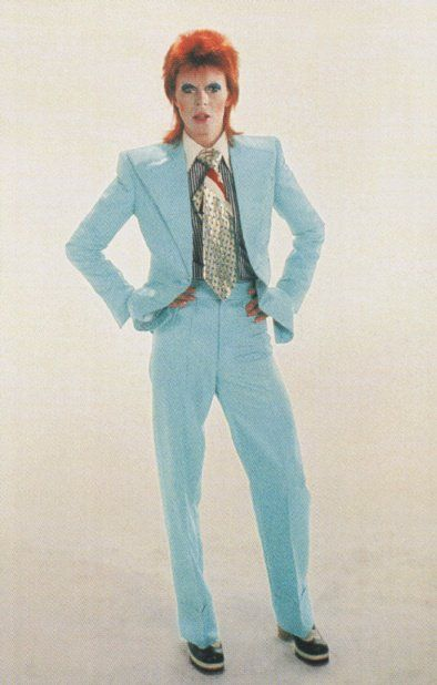 Image result for david bowie life on mars suit