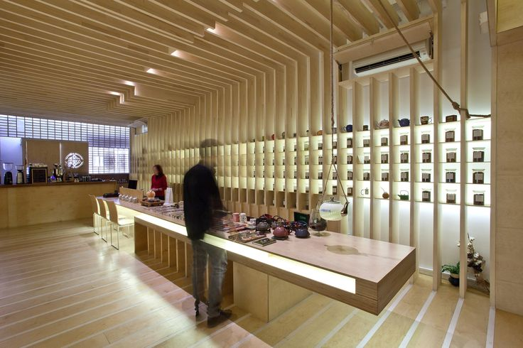 To Tsai Tea Room  / Georges Batzios Architects