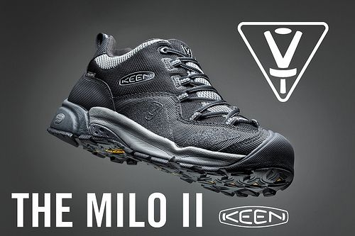 Milo II Keen Disc golf shoe.