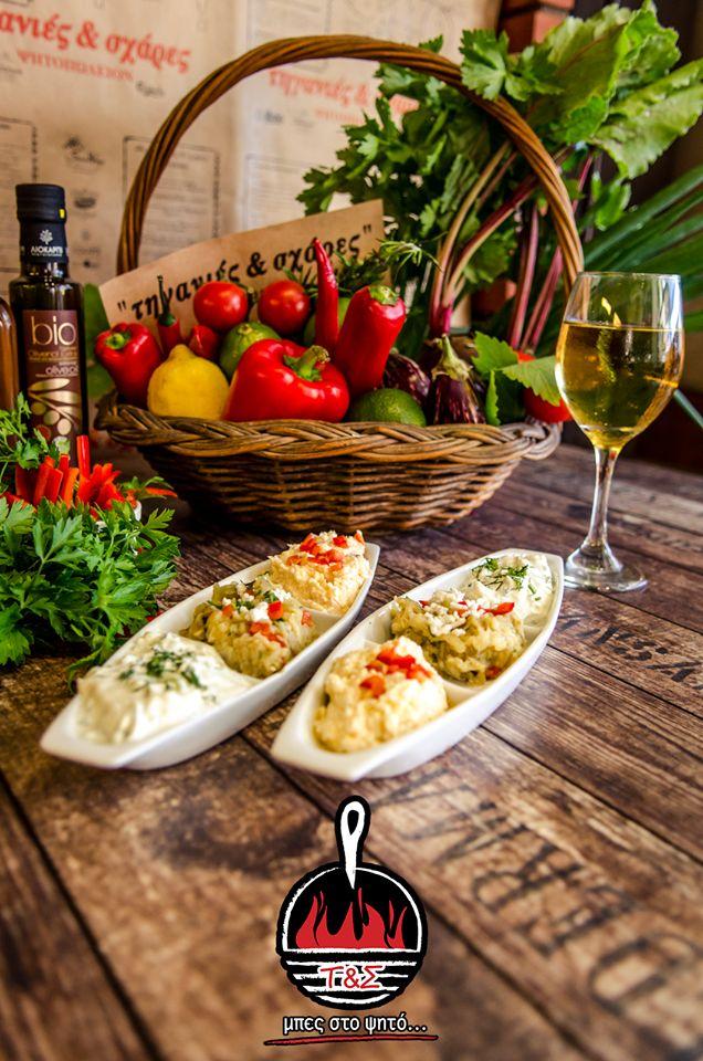 Τρίποντο στην γεύση, τρίποντο στην απόλαυση!!!  Τρίποντο αλοιφών και η παρέα τα έχει όλα!!!  #ΤηγανιέςΣχάρες #μπες_στο_ψητο #αγαπαμε_το_κρεας #Ψητοπωλείο #Θεσσαλονίκη #Λαδάδικα #Καυταντζόγλου