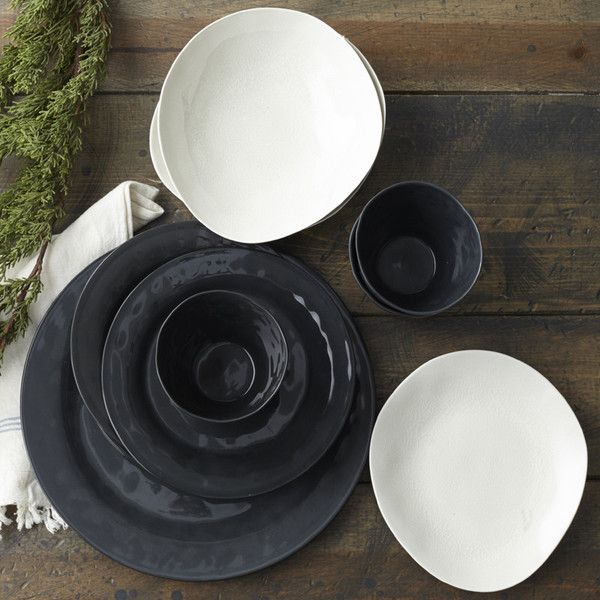 Simple, modern, timeless and versatile describes the Nordic Style of ceramics by Swedish maker, Kajsa Cramer. Each piece is unique and highly tactile. We love how the black china Patrice dessert or salad plates embody the juxtaposition of appearing delicate and yet are highly practical and dish washer proof. The Nordic style easily mixes with warm wood, our cool organic porcelain plates as well as metals. We looked high and low for Scandinavian style with a creative edge and believe we found…