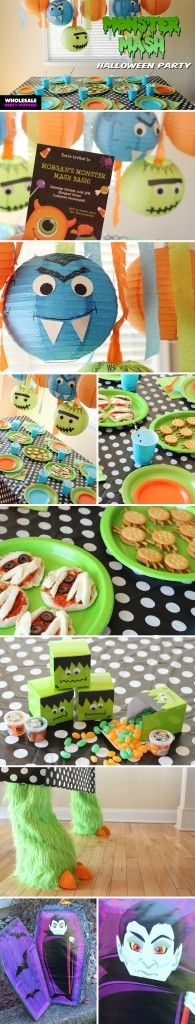 Do the Monster Mash and throw a Halloween party inspired by the classic song!