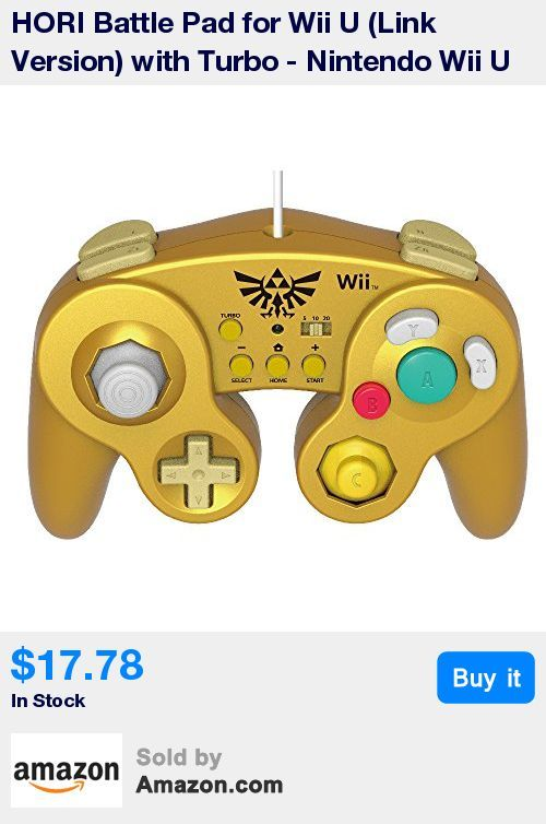 Officially licensed by Nintendo * Perfect for Super Smash Bros, Super Mario 3D Land, Super Mario Kart 8, and Virtual Console titles for Wii U * Features short stroke L and R buttons, 3 Turbo settings, and a large D-pad * Similar in shape and function as the original Nintendo GameCube controller but plugs straight into the Wii U Remote! * Compatible with Classic Controller, Classic Controller Pro supported titles and most Nintendo Virtual Console titles