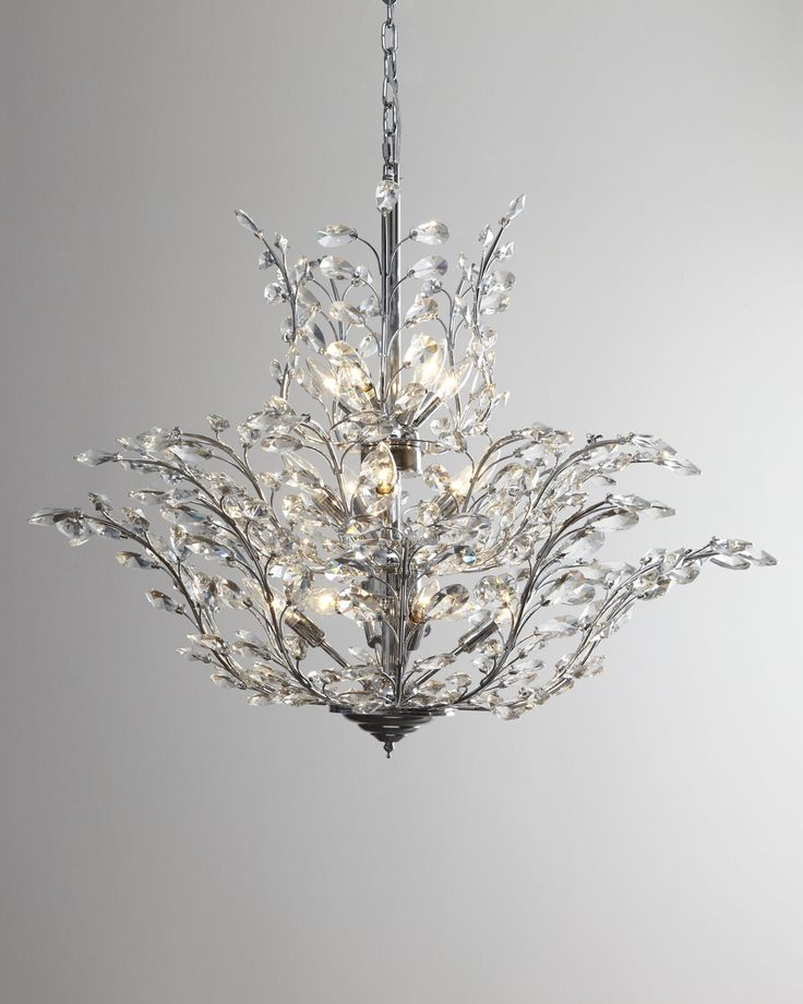 Best 20 crystal chandeliers ideas on pinterest - Unique crystal chandeliers ...