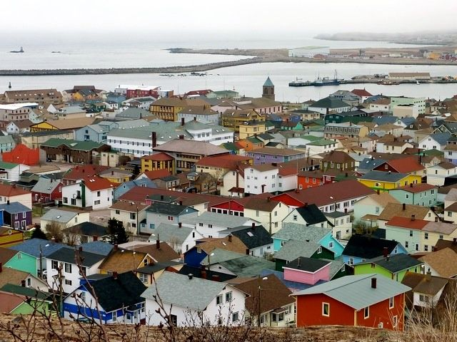 Saint-Pierre, capital of St. Pierre et Miquelon (French Overeseas Territory) near Newfoundland