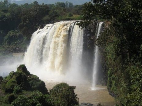 Natuur Ethiopië - Blauwe Nijl waterval http://www.naturescanner.nl/afrika/ethiopie
