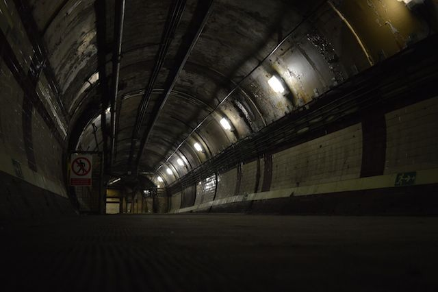 """Down Street """"ghost station"""" in London is used as a location in The Miracle Inspector. Closed to the public but it might be open for tours soon."""