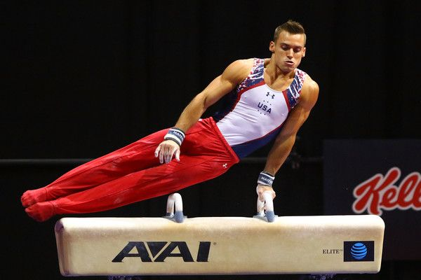 Sam Mikulak Photos - Sam Mikulak competes on the pommel horse during day two of the 2016 Men's Gymnastics Olympic Trials at Chafitz Arena on June 25, 2016 in St. Louis, Missouri. - 2016 Men's Gymnastics Olympic Trials - Day 2