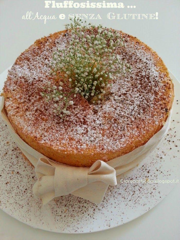 Chiffon Cake all'Acqua senza glutine, la più fluff delle fluffose! | Clara pasticcia