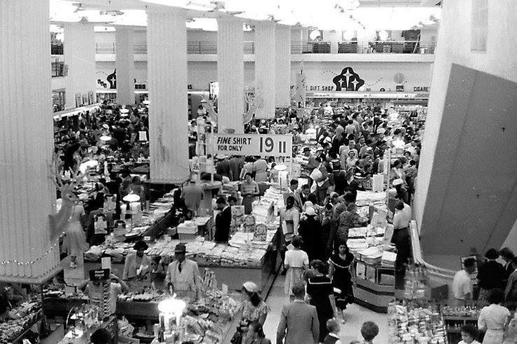 OK Bazaars, Adderley Street, Cape Town c1953