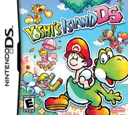 Yoshi's Island DS (Nintendo), DS; released in North America & Australasia in Nov 2006, in Europe in Dec 2006. It is the sequel to the 1995 SNES game, Super Mario World 2: Yoshi's Island. Whereas the SNES game featured only Baby Mario, DS introduces Baby Peach, Baby Donkey Kong & Baby Wario while allowing the player to control Baby Bowser. Baby Mario & the Yoshi clan must rescue Baby Luigi. In 2008, Yoshi's Island DS sold 2.91 million copies worldwide.