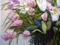 Gallery.ru / Весенний букет - Вышивка лентами, часть 2 - silkfantasy