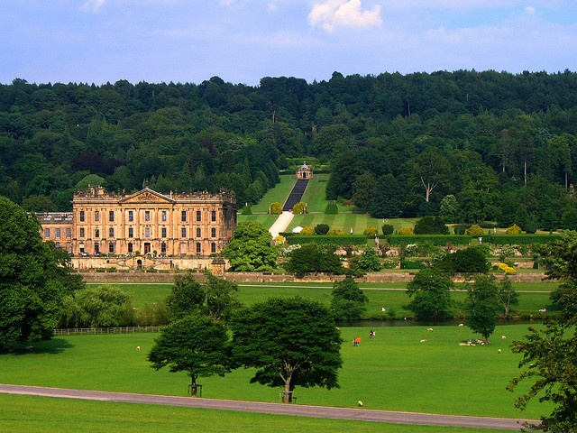 My favorite view of Chatsworth by UGArdener, via Flickr