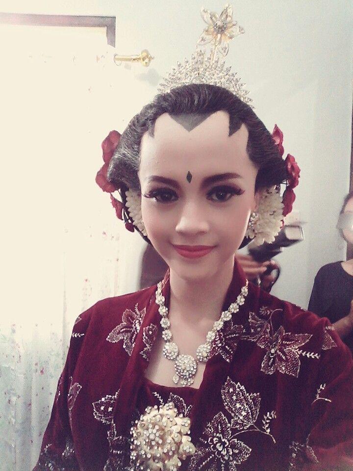 Javanese Wedding Makeup Jogja Putri