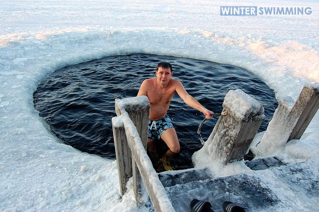 Extreme Winter Swimming