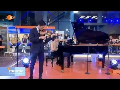 Charlie Siem - Underneath The Stars -  ZDF Morgenmagazin, November 24, 2014:    Charlie Siem, violin and Kim Barbier, piano