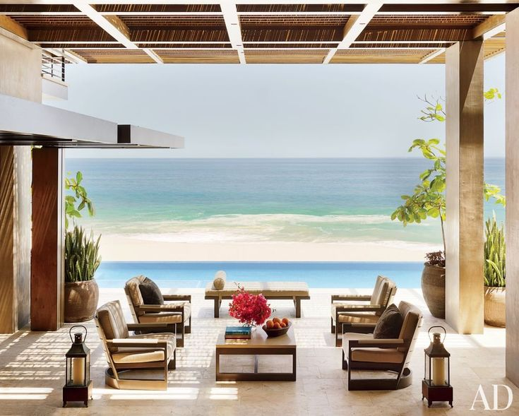 Best Beach HouseCottage Images On Pinterest Live A - Beautiful interior decorating ideas blending mexican style oceanfront villa chic