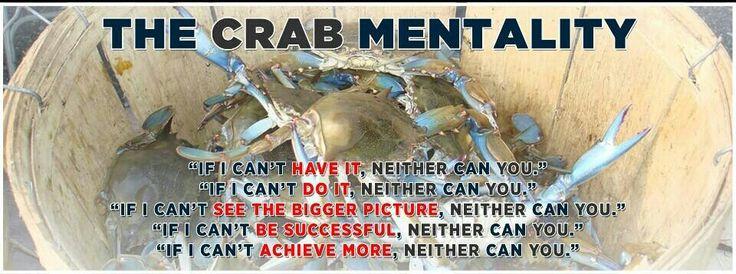 filipino crab mentality Crab mentality – bringing down other people nang ako ay mag-abroad,marami akong natutunan lahat ng magagandang bagay na nakita ko ay ina-adapt ko pero.