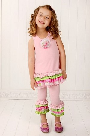 Frillys Pink with Lime Ruffled Polka Dot Dress: Lime Ruffled, Polka Dots, Polka Dot Dresses, Kid Crafts