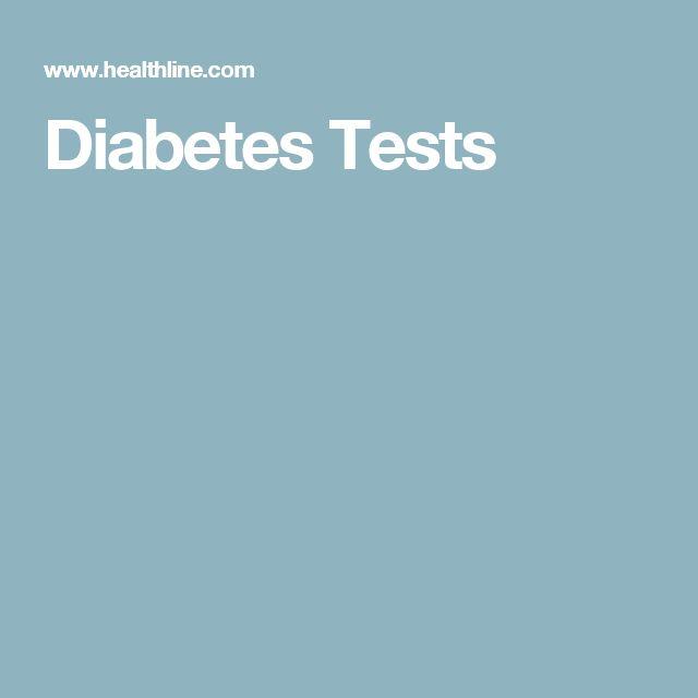 Diabetes Tests