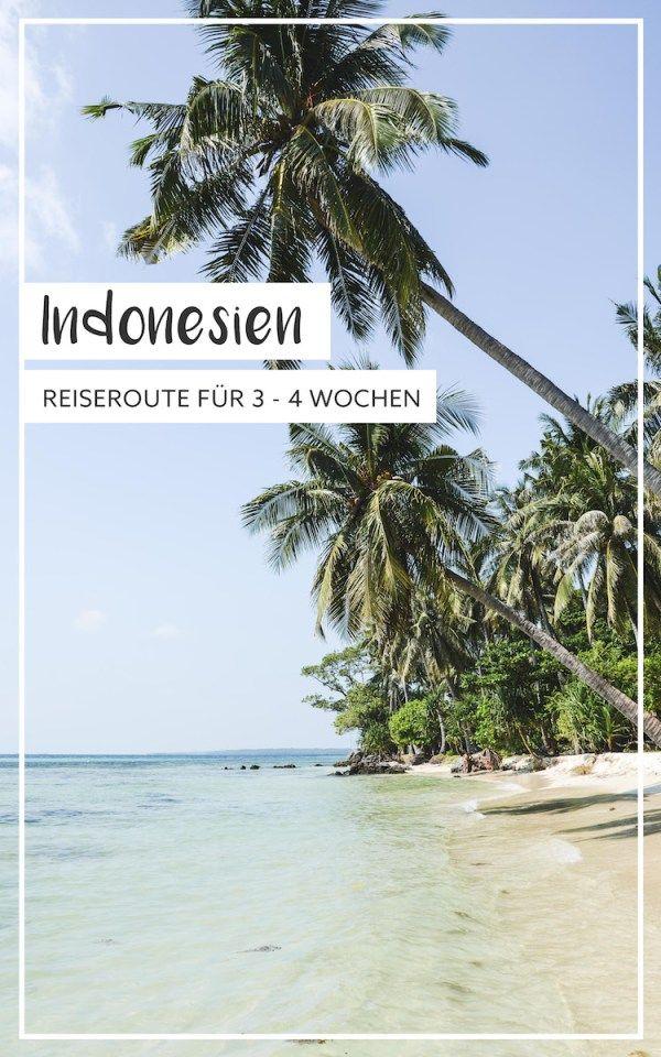 Perfekte Reiseroute für Indonesien-Neulinge: Palmengesäumte Strände, Städte und Vulkane.