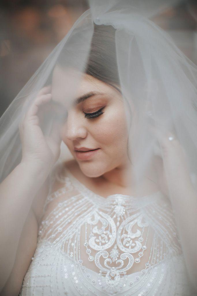 Plus Size Wedding Veils