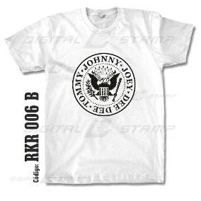 Remeras Ramones Rock 06 Estampado Digital Nuevos Diseños