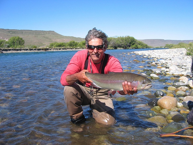 Fly fishing in Junín de los Andes