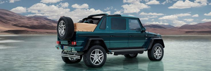 Mercedes-Maybach G 650 Landaulet (W 463): Mercedes-Maybach presents a new masterpiece of automotive engineering.