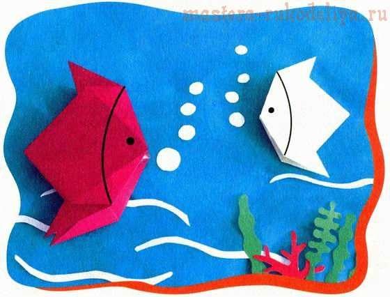 Мастер-класс по оригами: Рыба