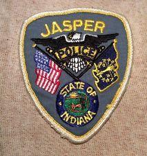 Jasper Indiana Police Patch