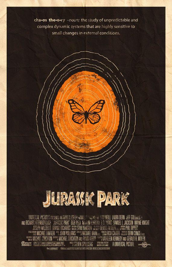 Affiche du film Jurassic Park 11 x 17 par adamrabalais sur Etsy