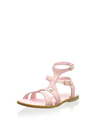 50% OFF Pampili Kid's Dual-Buckle Sandal (Rosa Glace)